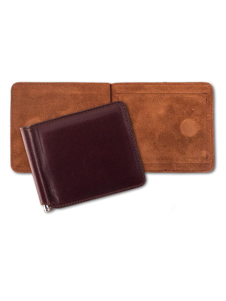 Зажим для купюр QOPER Clip 3, коричневый