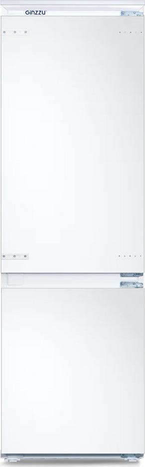 купить Холодильник Ginzzu NFK-260, встраиваемый, белый онлайн