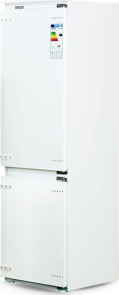 Холодильник Ginzzu NFK-260, встраиваемый, белый Ginzzu