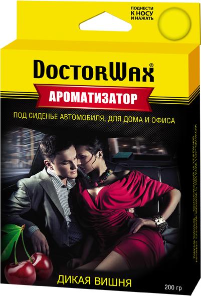 Автомобильный ароматизатор Doctor Wax Вишня, DW0805, под сиденье автомобильный ароматизатор doctor wax новая машина dw0807 под сиденье