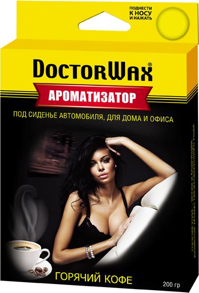 Автомобильный ароматизатор Doctor Wax Кофе, DW0806, под сиденье автомобильный ароматизатор doctor wax новая машина dw0807 под сиденье