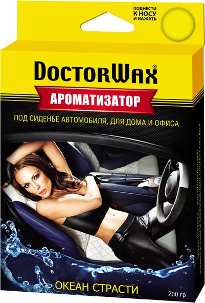 Автомобильный ароматизатор Doctor Wax Океан, DW0808, под сиденье