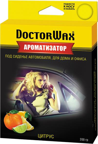 Автомобильный ароматизатор Doctor Wax Цитрус, DW0819, под сиденье ароматизатор воздуха автомобильный maxi fresh цитрус и манго под сиденье 100 г