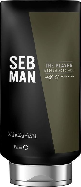 Гель Seb Man The Player для укладки волос средней фиксации, 150 мл paul mitchell крем для укладки средней фиксации mitch clean cut 10 мл