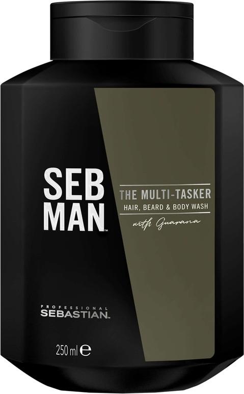 Шампунь для ухода за волосами Seb Man The Multitasker 3 в 1, 250 мл ogx vitamin e шампунь для комплексного ухода за волосами с витамином е vitamin e шампунь для комплексного ухода за волосами с витамином е 385 мл