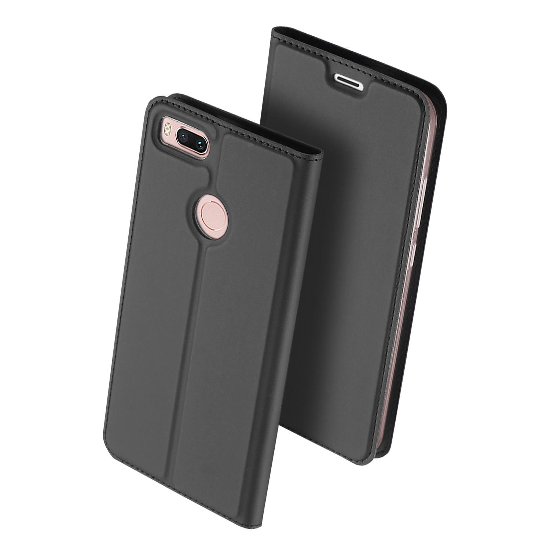 Чехол для сотового телефона Dux Ducis Samsung A8 Plus 2018, серый аксессуар чехол dux ducis leather для apple airpods premium red
