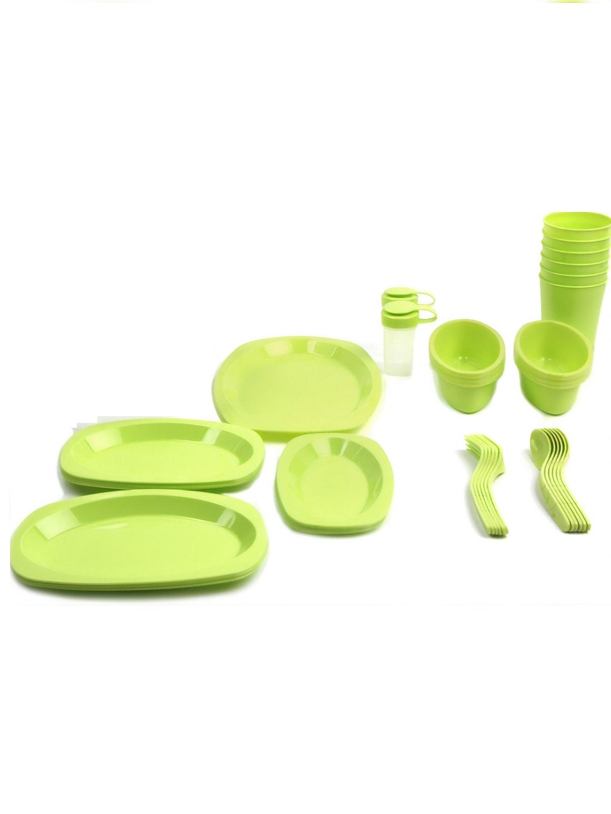 Набор посуды для кемпинга и пикника на 6 человек