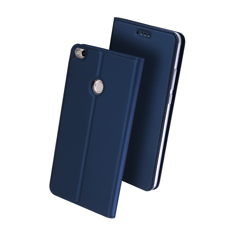 Чехол для сотового телефона Dux Ducis Samsung A8 Plus 2018, темно-синий аксессуар чехол dux ducis leather для apple airpods premium red