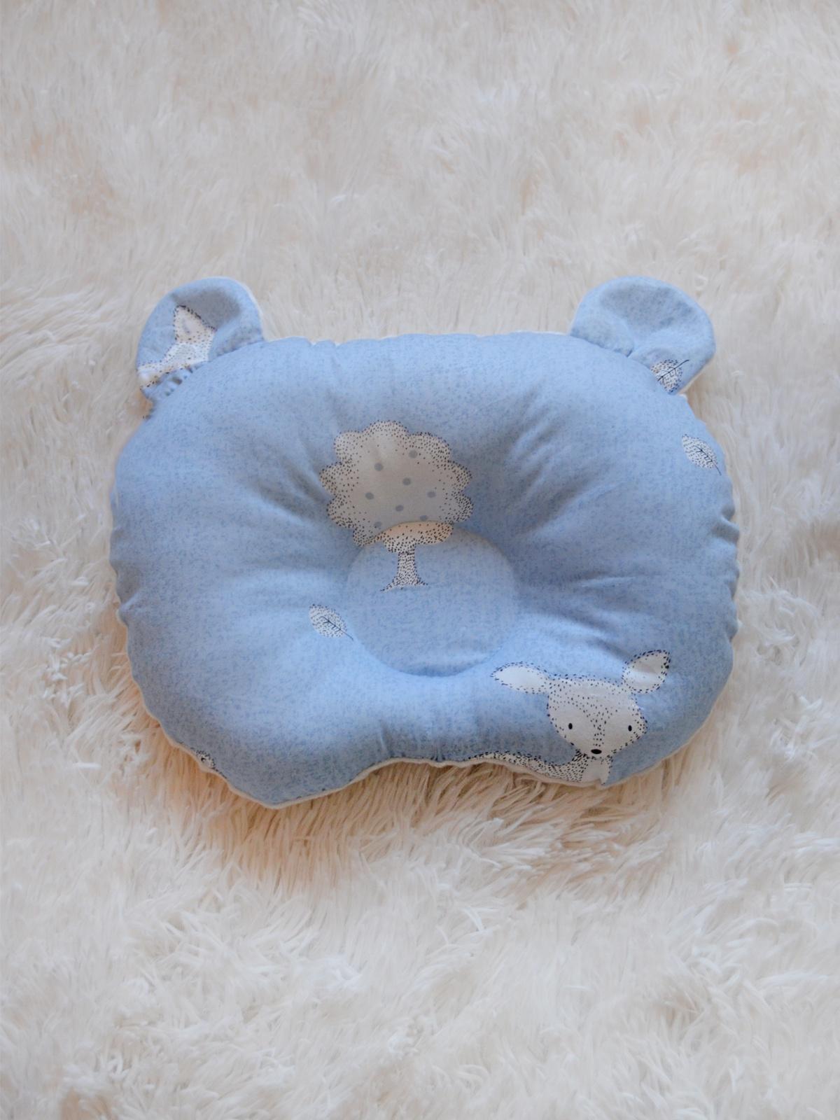 Детская подушка SISTERS CARE Подушка для новороденных Мишка