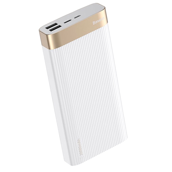 Внешний аккумулятор Baseus 14739, белый
