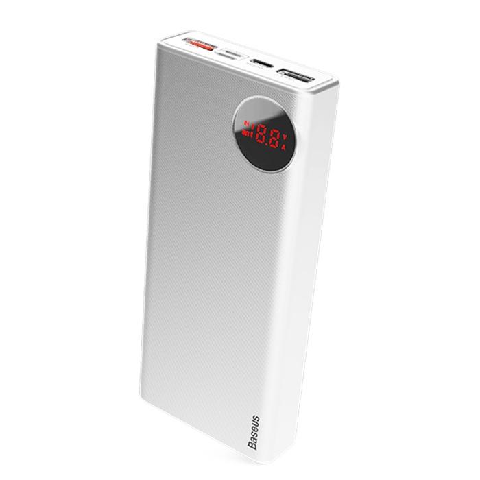 Фото - Внешний аккумулятор Baseus 15609, белый велосипед 3 х колесный vip lex 903 2а red красный viplex 903 2а red