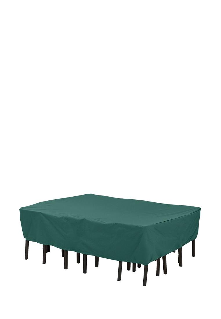 цены Чехол-укрытие BLUMEN HAUS Чехол на набор садовой мебели (прямоугольный), темно-зеленый
