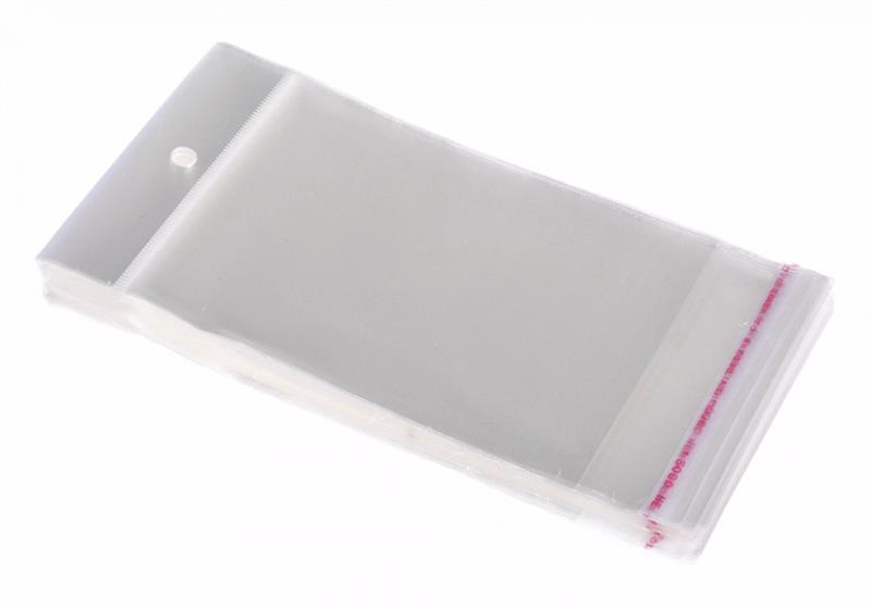 Упаковка АБАК 7х20 см, 100 шт. Пакеты полипропиленовые с клеевым клапаном (скотч полосой) и еврослотом