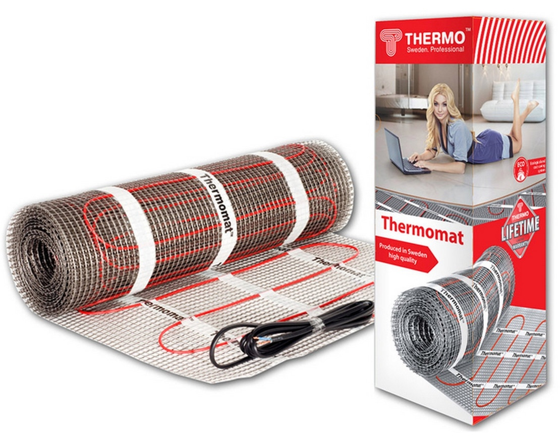 цена на Нагревательный мат Thermo Термомат TVK-180 8м.кв.