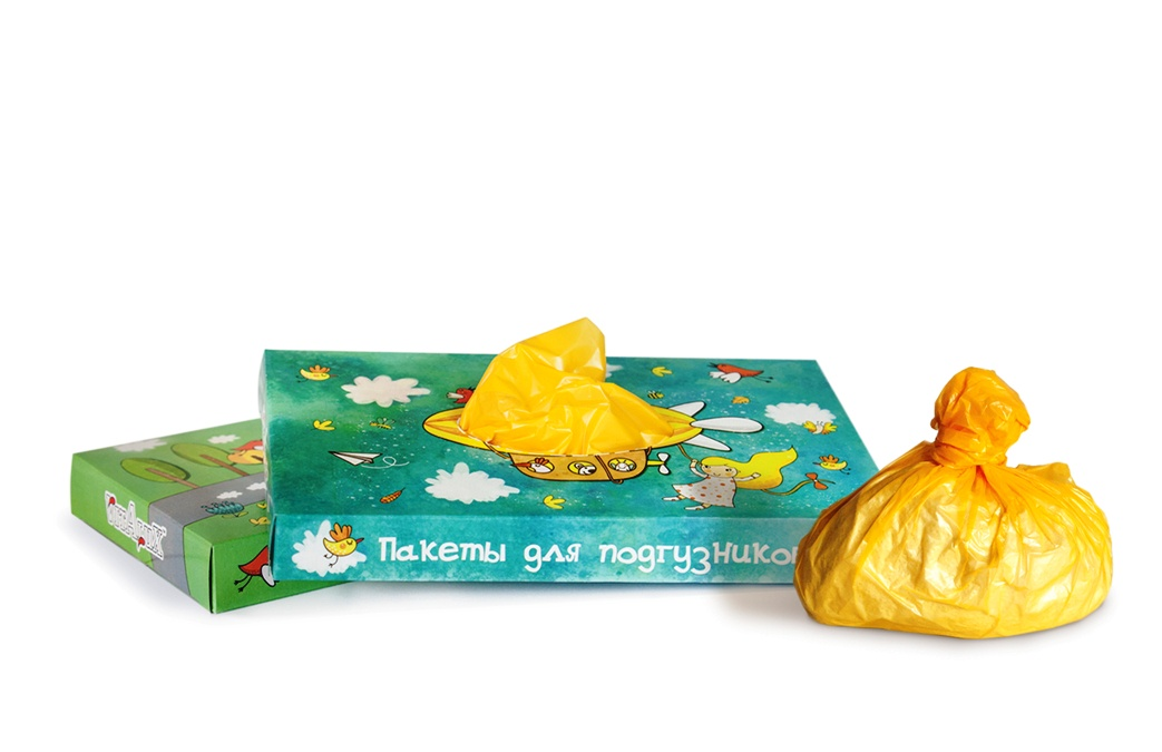 Пакеты плотные для утилизации использованных детских подгузников 100 шт в картонной красочной коробке 24 х 40 см, полиэтилен, для мусора, не пропускают запах, дорожные, непрозрачные Vitalux фреш клаб пакеты для использованных подгузников 100шт