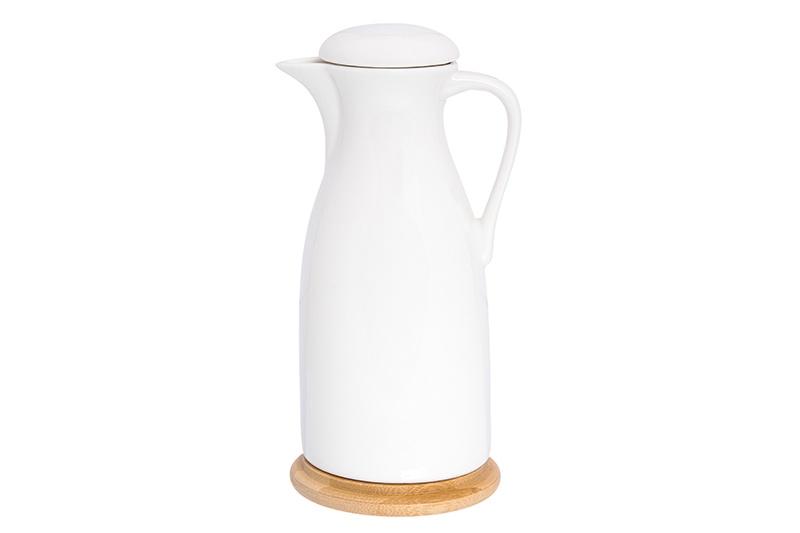 """Бутылка для масла/уксуса """"Айсберг"""" 9,5*8*19 см. 450 мл., с ручкой и крышкой, высота без крышки - 17 см."""
