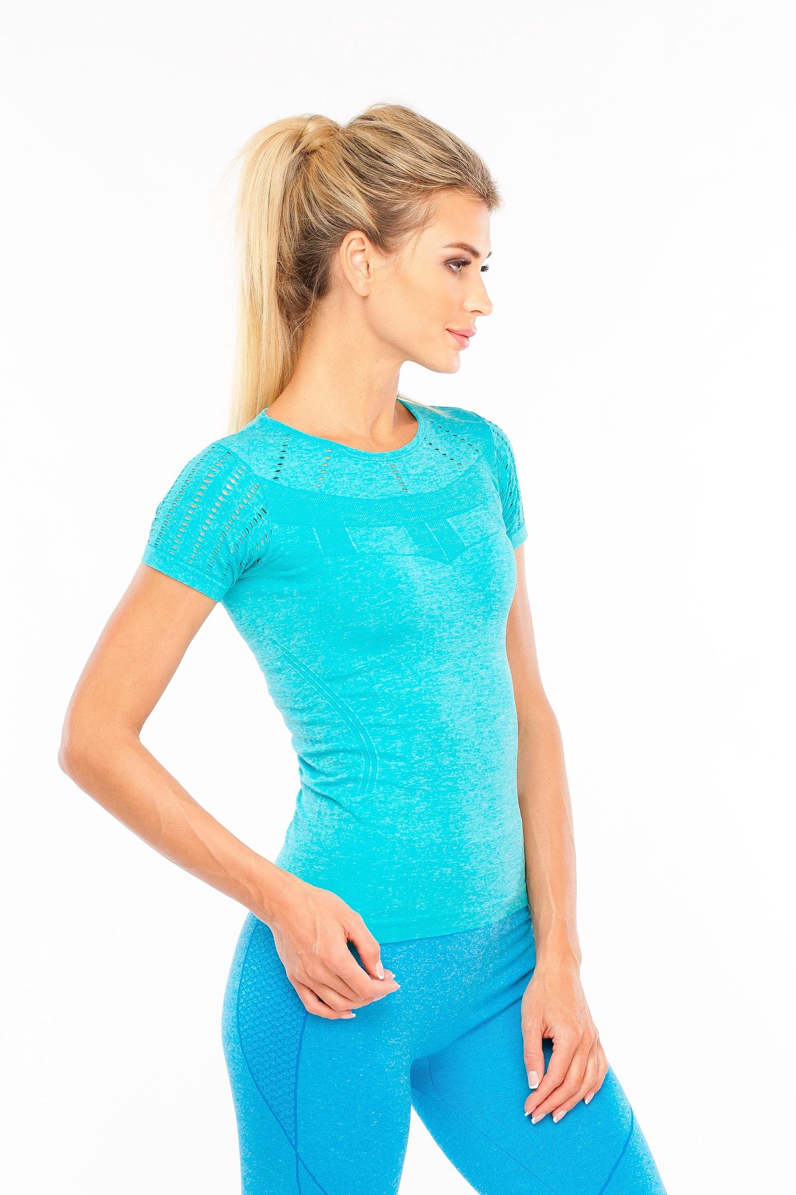 Футболка Pro-fit, бирюзовый 42 размерLF005 ELECTRIC BLUE (S)Спортивная женская футболка, подходит для занятия: фитнес, бег, йога и другие спортивные занятия.