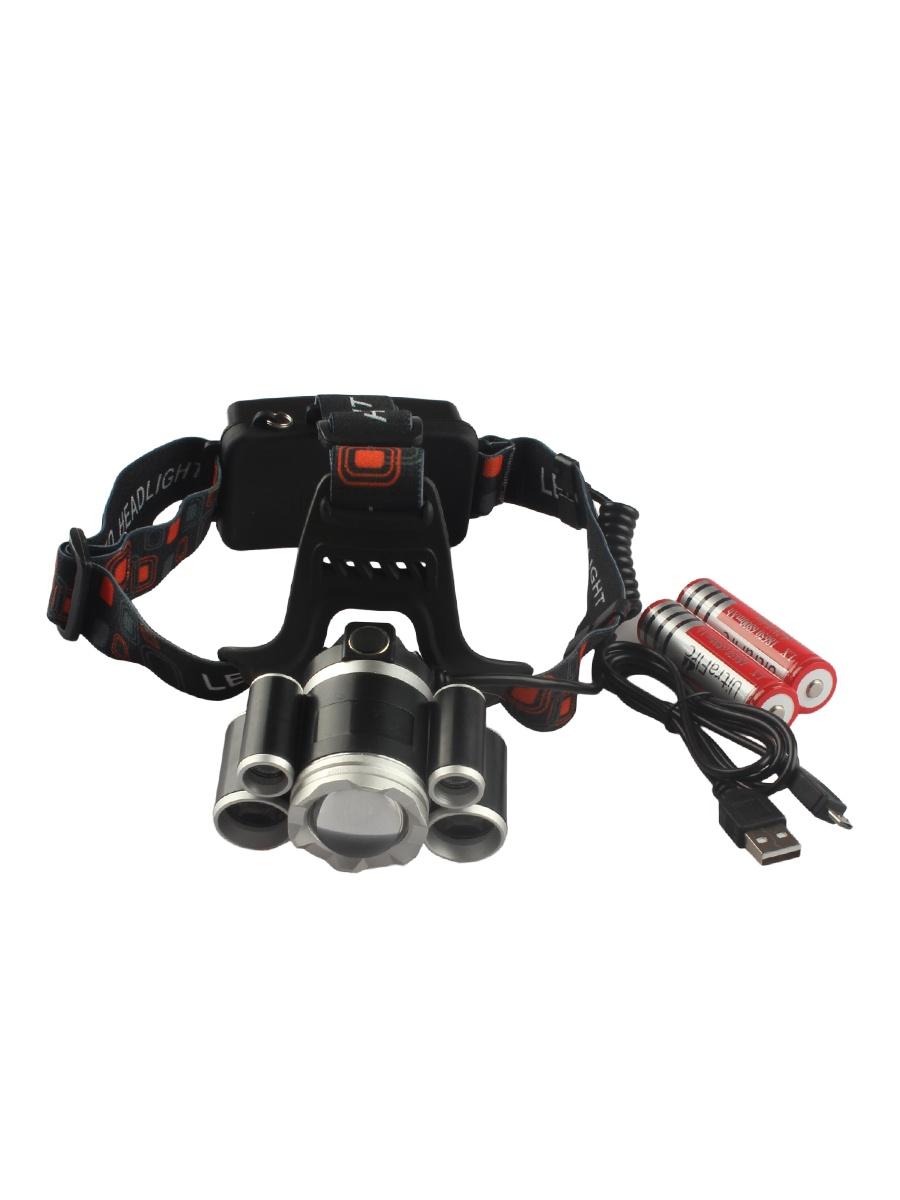 Налобный фонарь Sadko HL-K800, черный