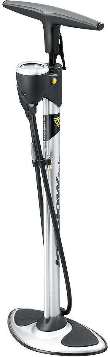 Велосипедный насос Topeak JoeBlow Turbo, напольный, TJB-TBO, черный насос topeak racerocket ручной портативный серебристый trr 1s