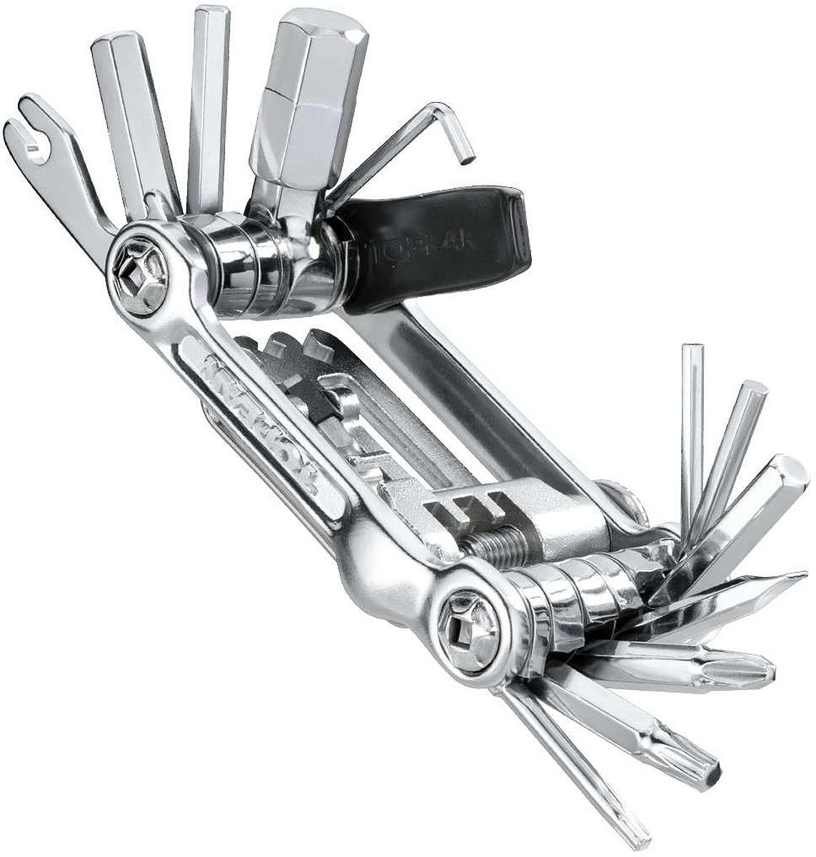 Мультиключ Topeak Mini 20 Pro, TT2536S, серебристый