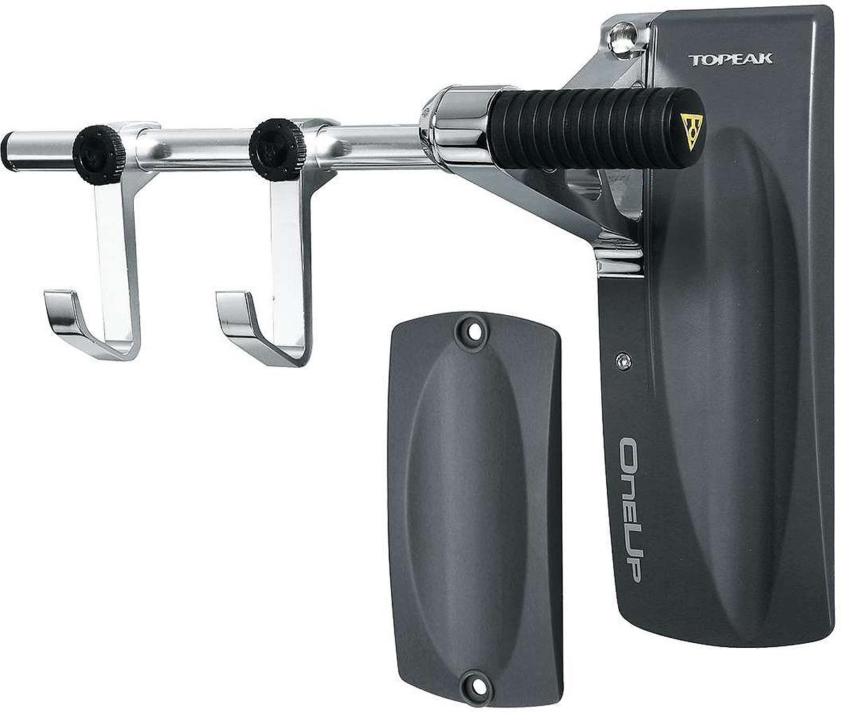 Держатель настенный для велосипеда Topeak OneUp Bike Holder, TW009, черный крепление для велосумки под седло topeak f25 tc1018 черный