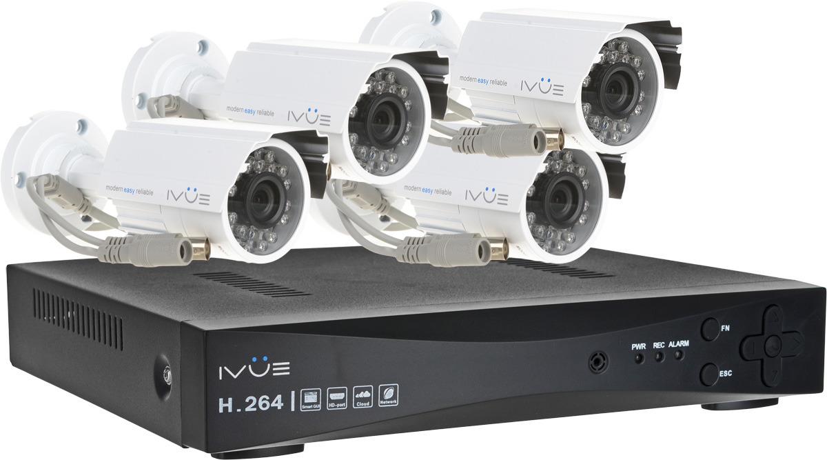 iVue D5004 AHC-B4 Дача 4+4 комплект видеонаблюдения цена