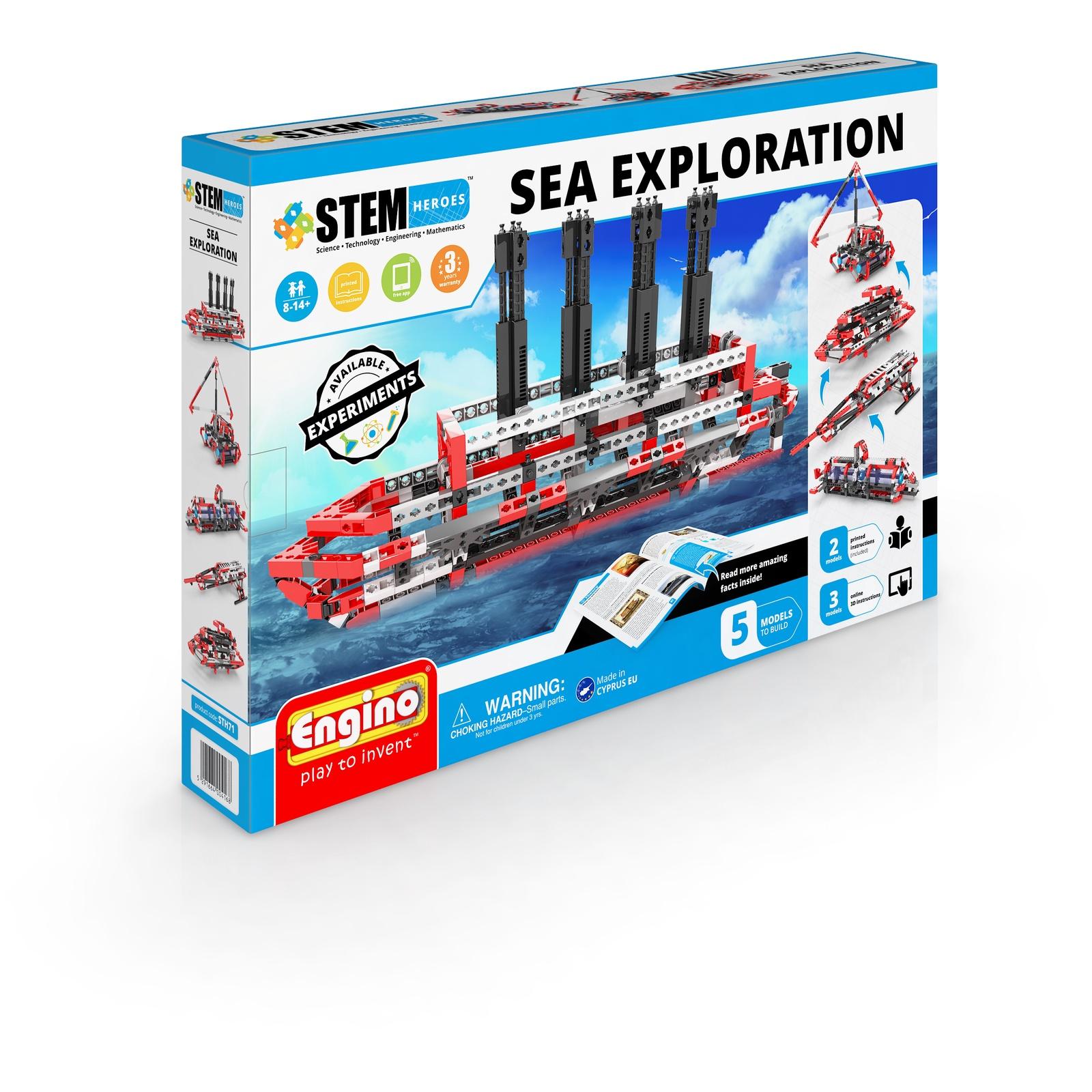 Пластиковый конструктор Engino Морские исследования