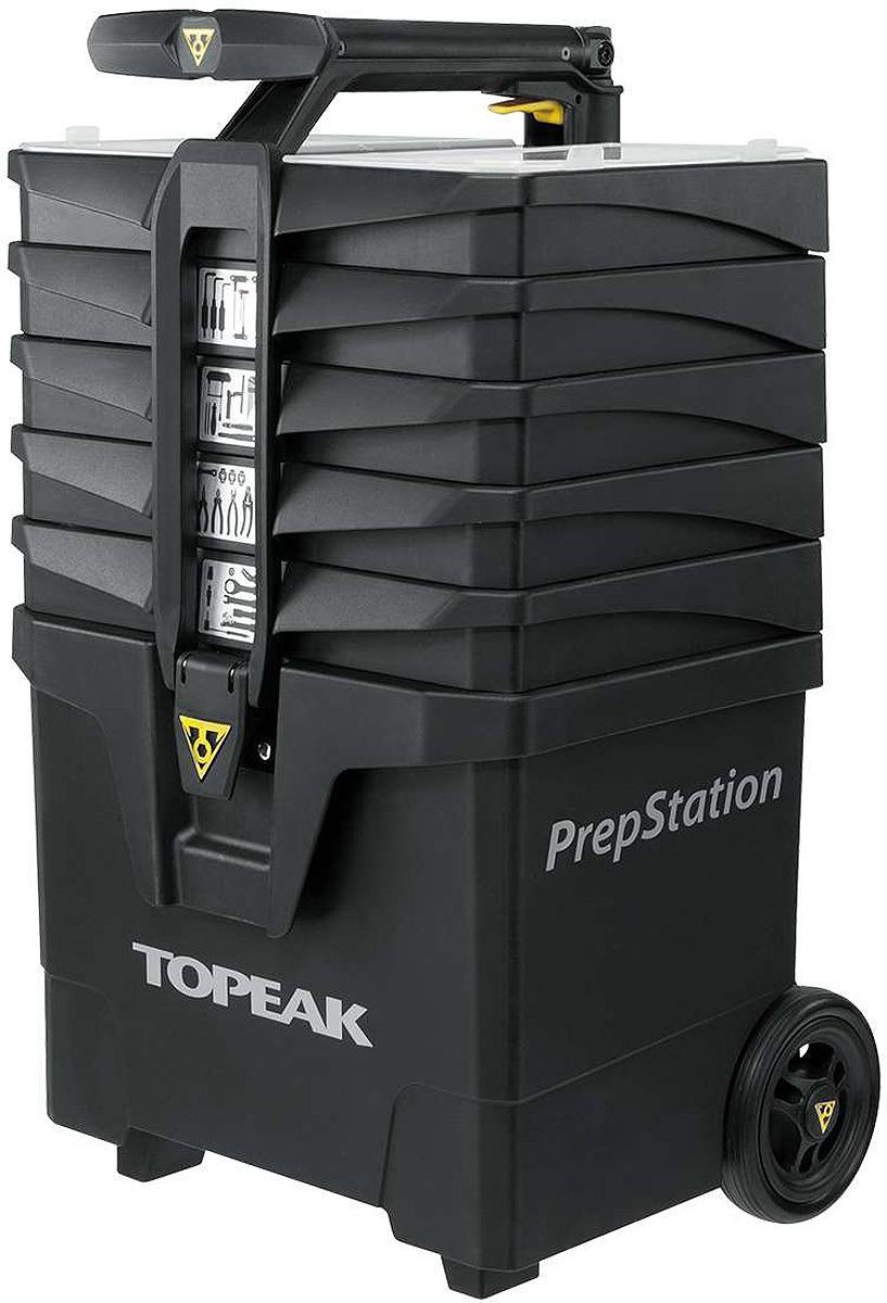 Набор инструментов Topeak PrepStation, TPS-03, черный, 40 предметов