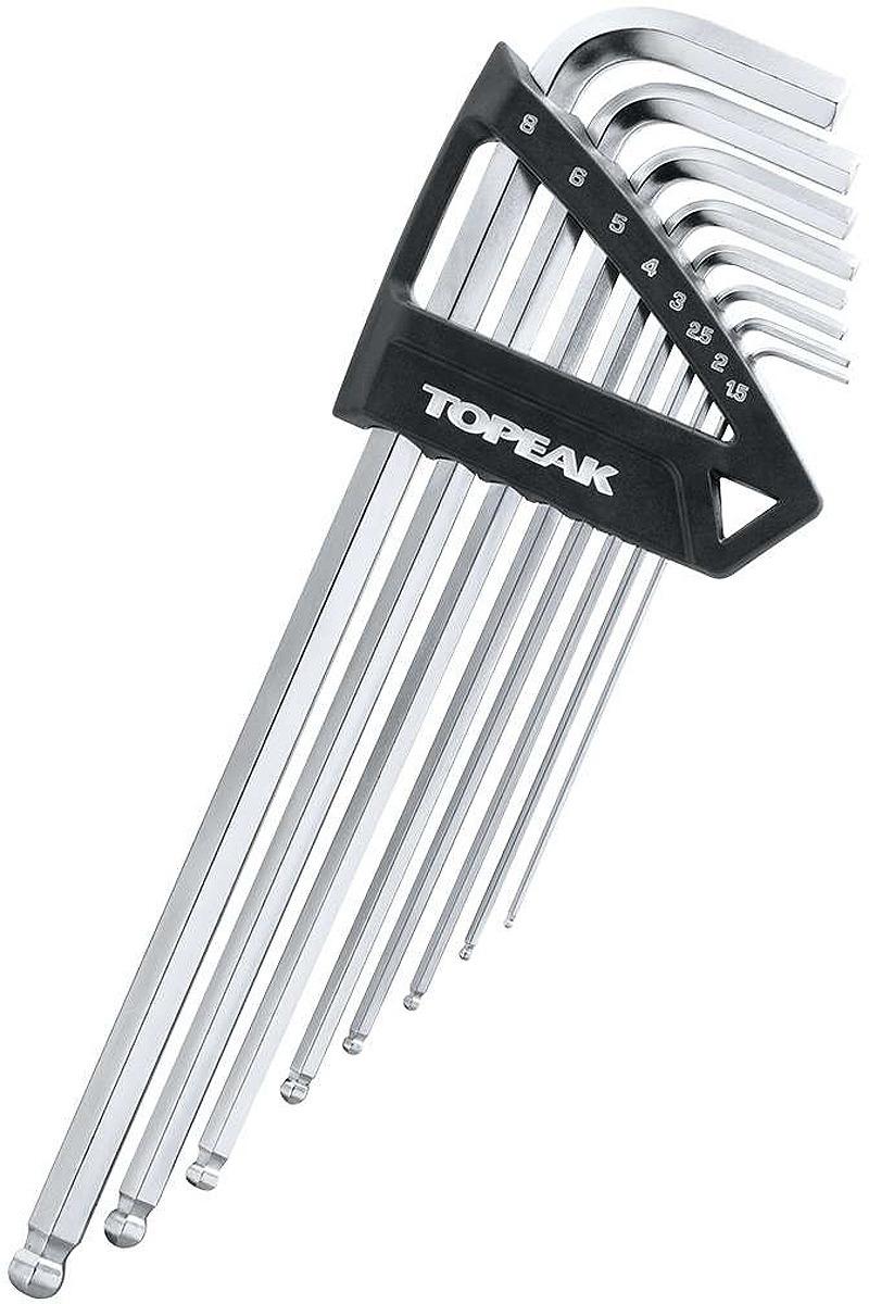 Набор шестигранников Topeak DuoNex Wrench, TPS-SP40, черный, 7 шт