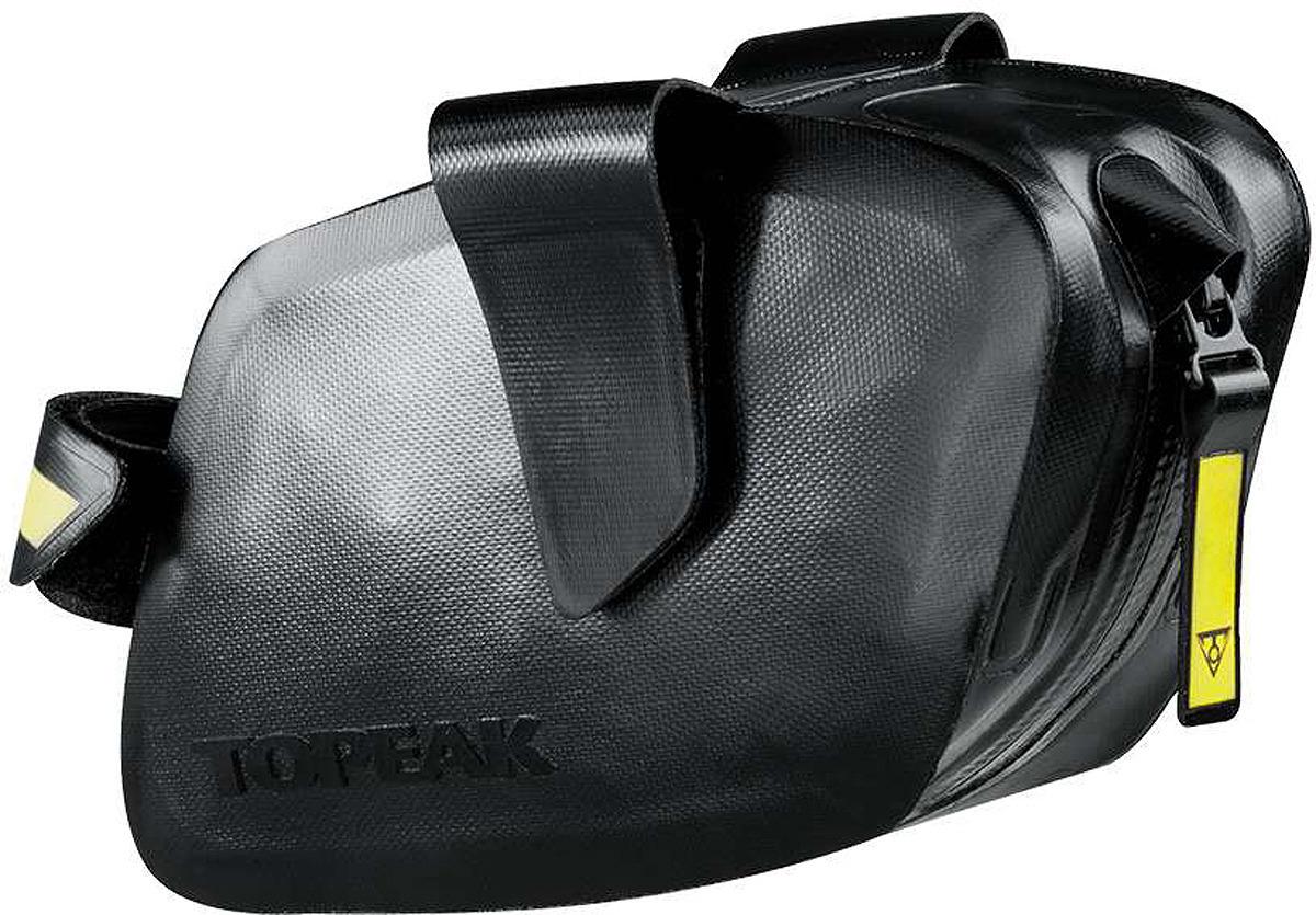 Велосумка под седло Topeak Weatherproof DynaWedge, TC2293B, черный крепление для велосумки под седло topeak f25 tc1018 черный