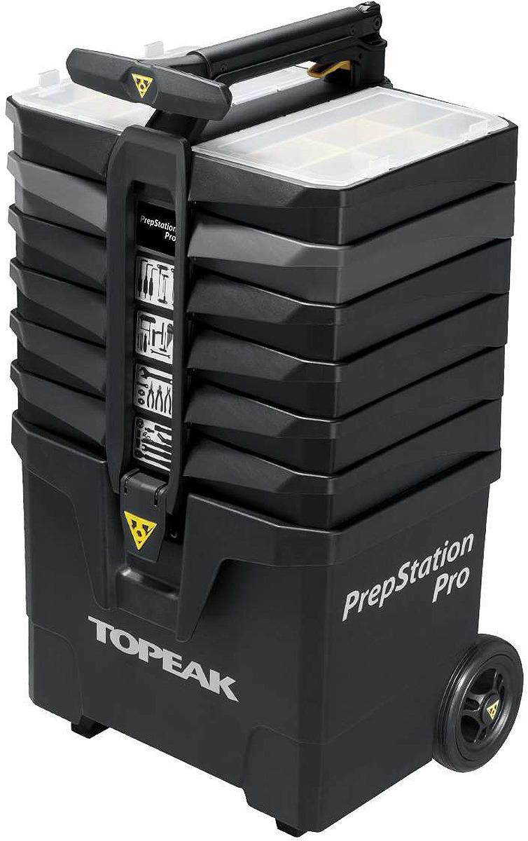 Набор инструментов Topeak PrepStation Pro, TPS-05, черный, 55 предметов