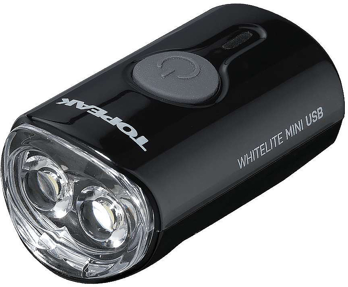 Велосипедная фара передняя Topeak WhiteLite Mini USB, TMS079B, черный