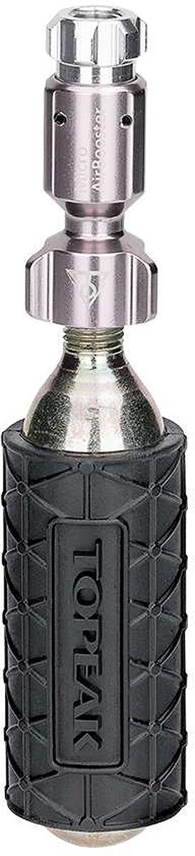 Велосипедный насос Topeak Micro AirBooster, TMB-2, черный