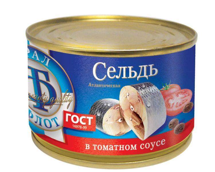 Фото - Сельдь атлантическая в томатном соусе, ТраллФлот леонид влодавец атлантическая премьера
