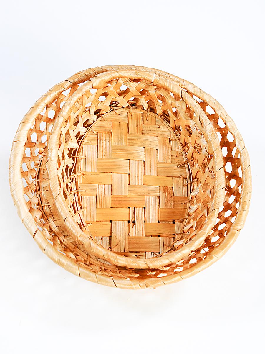 Набор плетеных корзинок ( 2 предмета) цены