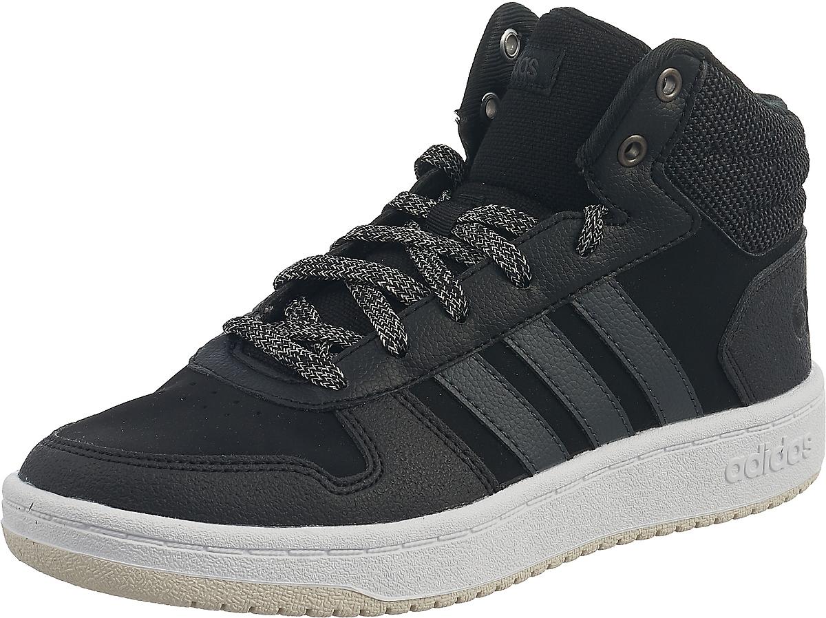 Кроссовки adidas Hoops 2.0 Mid кроссовки детские adidas hoops mid 2 цвет черный b75743 размер 35 33