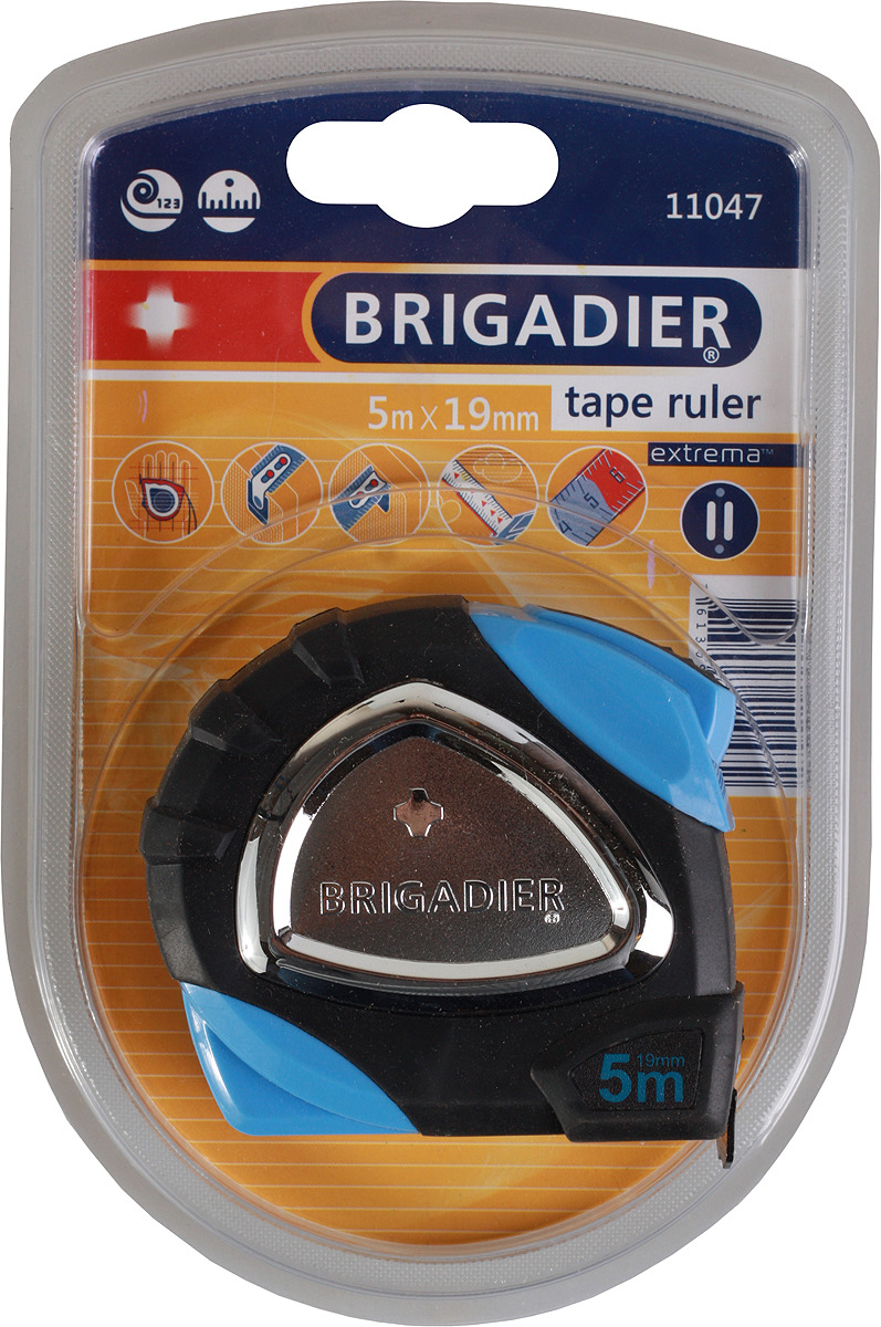 Измерительная рулетка Brigadier Extrema, 11047, 5 м