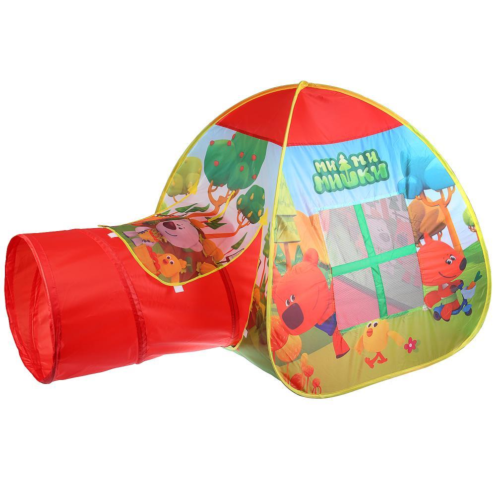 Палатка для игр Играем вместе МИМИМИШКИ, красный палатка для игр играем вместе мимимишки красный