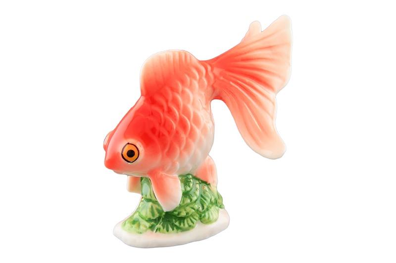 Фигурка декоративная Elan Gallery Рыбка, красный цена