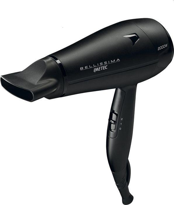 Фен Bellissima C19 2000 (11316N), черный все цены