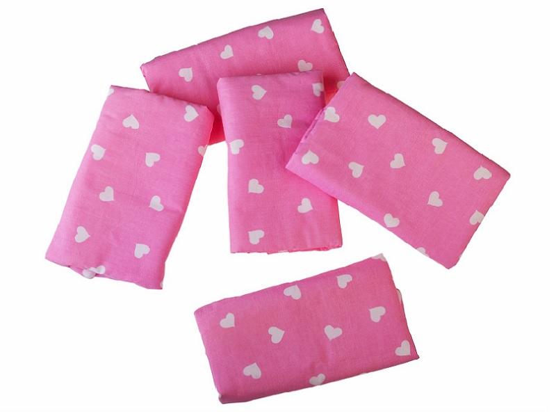 Бортик для кроватки Белогривая лошадка 007.9, розовый