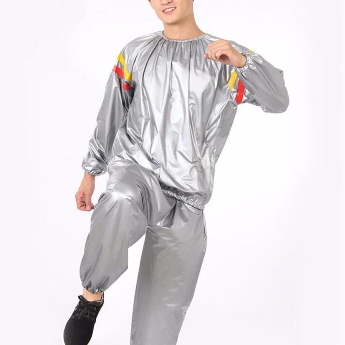 Костюм-сауна MARKETHOT Термический спортивный костюм -сауна, серый MARKETHOT