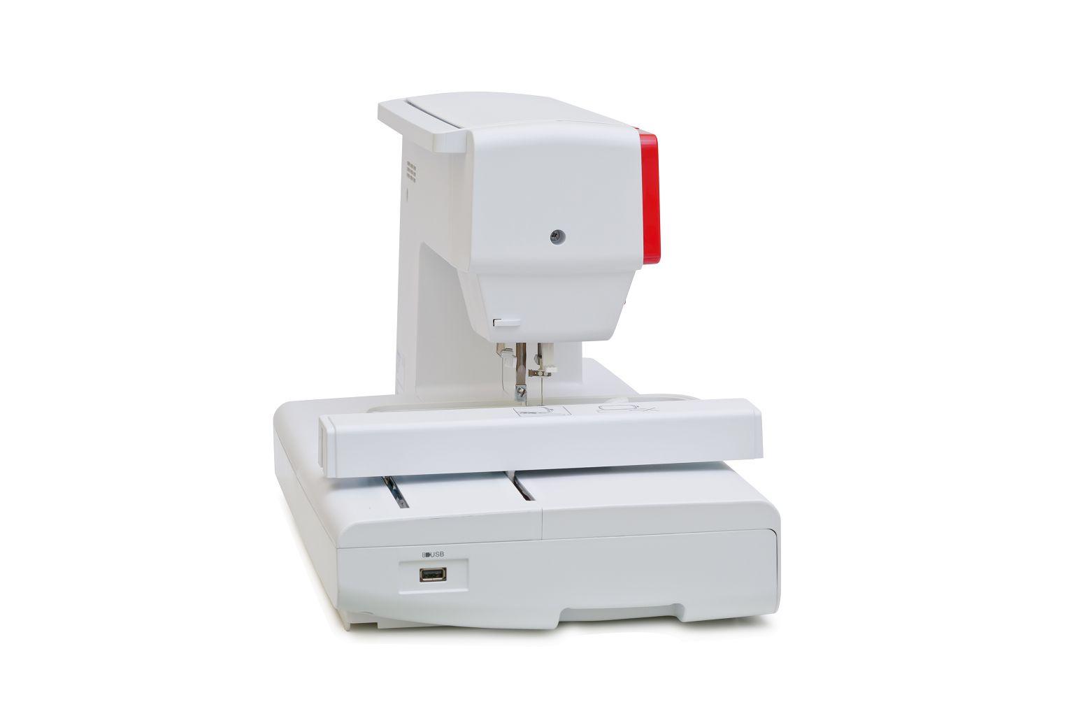 Вышивальная машина Minerva 450ER, белый, красный Minerva
