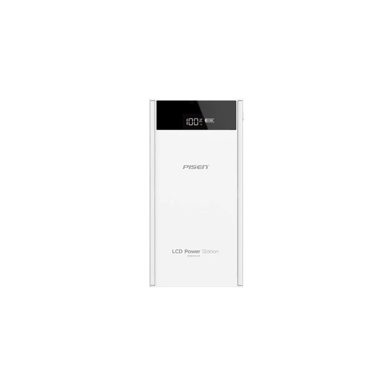 Фото - Внешний аккумулятор Pisen TS-D199, белый внешний аккумулятор pisen ts d186 белый