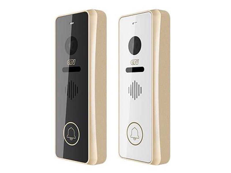 Вызывная панель CTV для видеодомофонов CTV-D3001-шампань, светло-бежевый цена