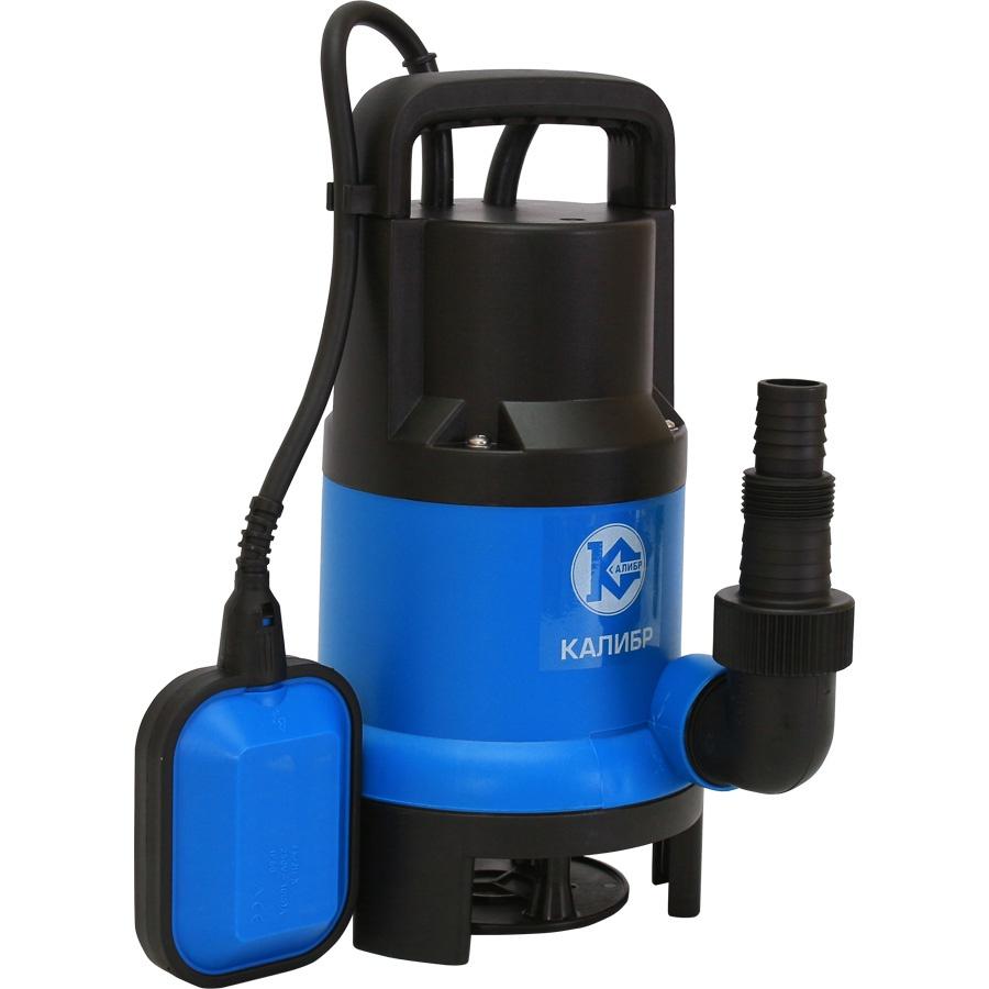 цена на Электрический насос Калибр НПЦ-750/35П, синий