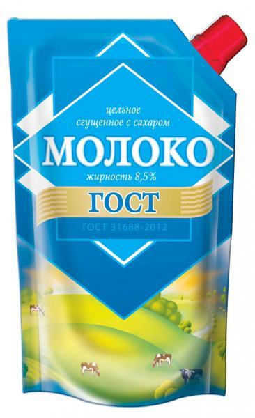 Сгущенное молоко Мясофф 6349 Дой-пак с дозатором, 270 Мясофф