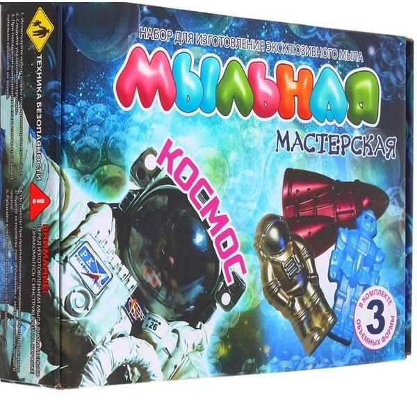 Обучающая игра Висма Мыльная мастерская. Космос инновации для детей набор мыльная мастерская тропический микс