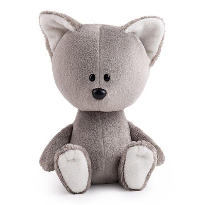 Мягкая игрушка Budi Basa col Волченок Вока светло-серый budi basa мягкая игрушка budi basa малыш саня пятаков