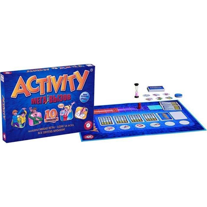 Настольная игра Piatnik Activity Мега вызов piatnik настольная игра activity вперед детская версия piatnik